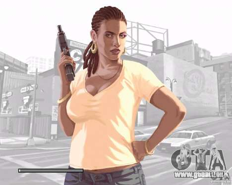 Écrans de chargement dans le style de GTA IV pour GTA San Andreas septième écran