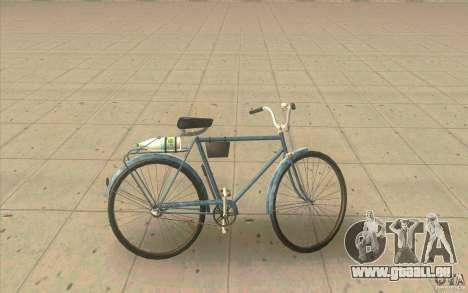 Fahrrad Ural-Dirty version für GTA San Andreas linke Ansicht