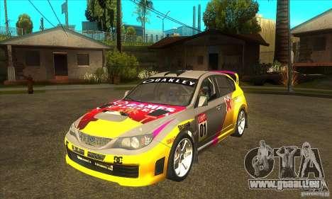 Subaru Impreza WRX STi X GAMES America von DIRT  für GTA San Andreas