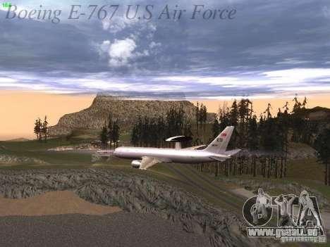 Boeing E-767 U.S Air Force pour GTA San Andreas moteur