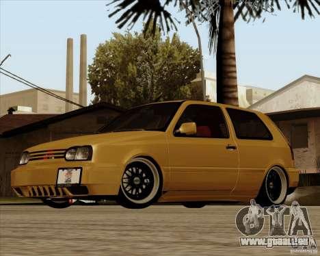 VW Golf MK 4 low & slow für GTA San Andreas