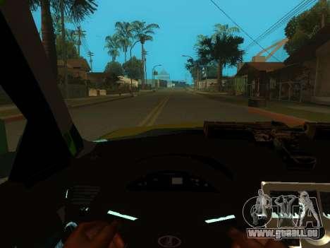 VAZ-2170 pour GTA San Andreas vue de côté