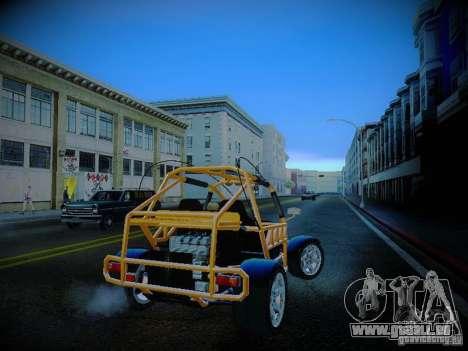 Buggy From Crash Rime 2 für GTA San Andreas rechten Ansicht