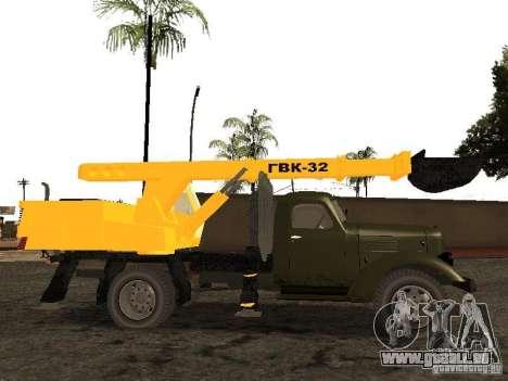 ZIL 157 GVC-32 für GTA San Andreas linke Ansicht