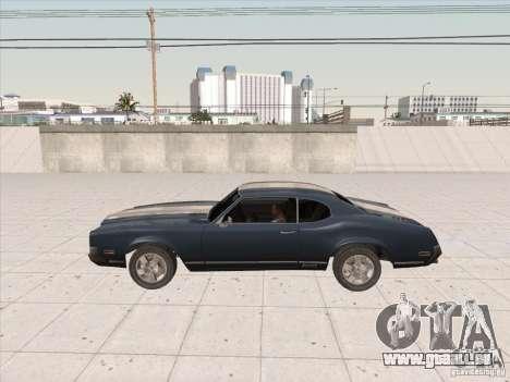 Sabre HD pour GTA San Andreas sur la vue arrière gauche