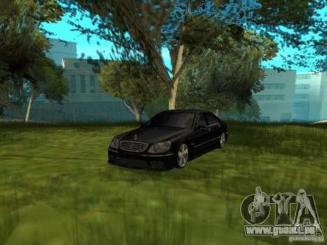 Mercedes Benz AMG S65 für GTA San Andreas