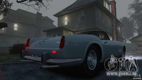 Ferrari 250 California 1957 für GTA 4 Rückansicht