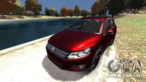 Volkswagen Tiguan 2012 pour GTA 4 est un côté