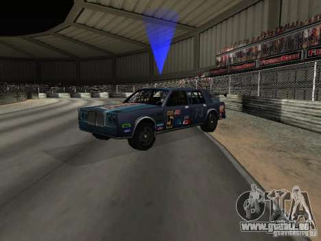 GreenWood Racer pour GTA San Andreas vue de droite