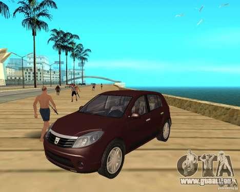 Dacia Sandero 1.6 MPI für GTA San Andreas