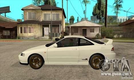 Honda Integra TypeR für GTA San Andreas linke Ansicht
