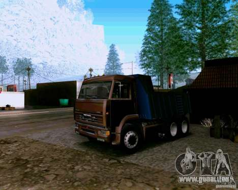 Camion à benne basculante KAMAZ 6520 pour GTA San Andreas