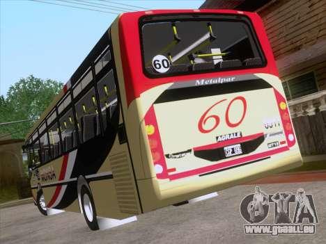 Metalpar Iguazu MT-15 pour GTA San Andreas roue
