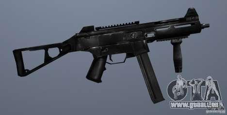 KM UMP45 Counter-Strike 1.5 pour GTA San Andreas quatrième écran