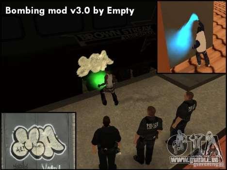 Bombing Mod by Empty v3.0 pour GTA San Andreas quatrième écran