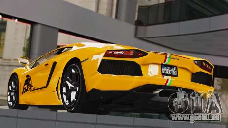 Lamborghini Aventador LP700-4 2012 pour GTA 4 est une gauche