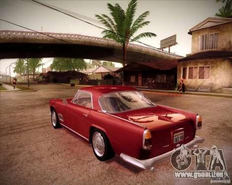 Maserati 3500 GT pour GTA San Andreas laissé vue