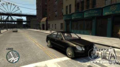 Mercedes-Benz E55 W211 pour GTA 4 Vue arrière