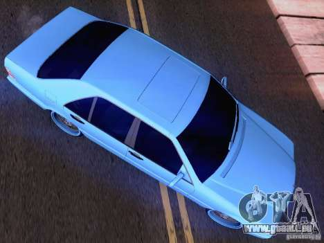 Mercedes-Benz S-Class W140 pour GTA San Andreas salon