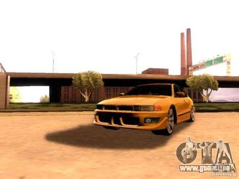 Mitsubishi Galant 2002 pour GTA San Andreas vue arrière
