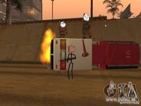 Meme Ivasion Mod für GTA San Andreas