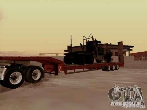 Volvo VNL 670-trailer für GTA San Andreas Rückansicht