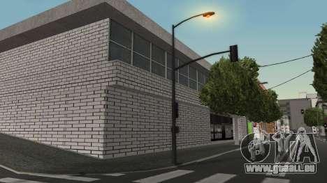 Structure des garages et bâtiments en fo pour GTA San Andreas deuxième écran