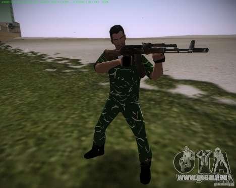 Haut wird enthüllt für GTA Vice City zweiten Screenshot