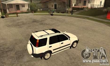 Honda CRV 1997 für GTA San Andreas rechten Ansicht