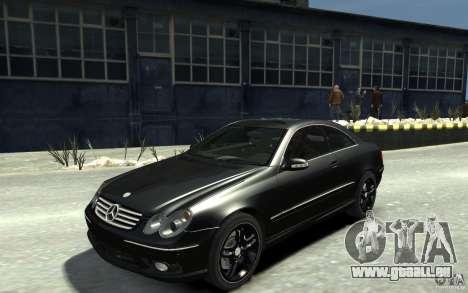 Mercedes-Benz CLK55 AMG 2003 v1 pour GTA 4