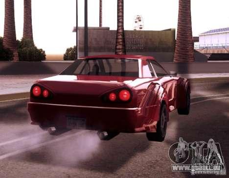Elegy Wide Body für GTA San Andreas zurück linke Ansicht