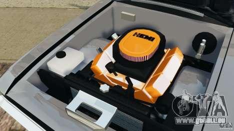 Dodge Challenger RT 1970 v2.0 für GTA 4 obere Ansicht
