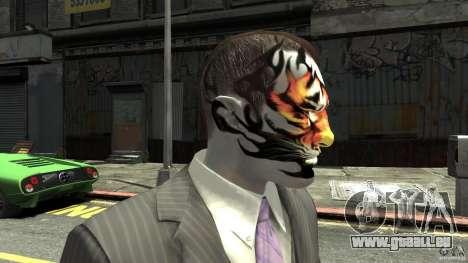 Tatoo Tiger für GTA 4 dritte Screenshot