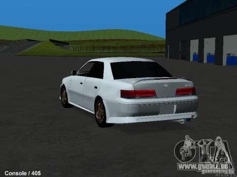 Toyota Mark II 100 1JZ-GTE pour GTA San Andreas sur la vue arrière gauche