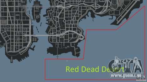 Red Dead Desert 2012 pour GTA 4 onzième écran