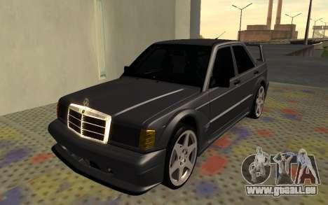 Mercedes-Benz 190E Evolution II 2.5 1990 pour GTA San Andreas