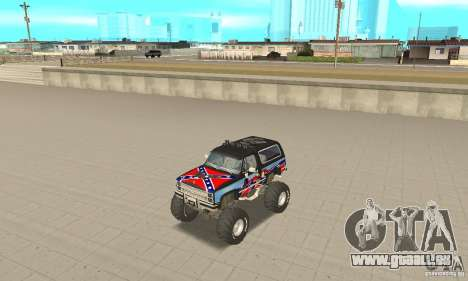 Chevrolet Blazer K5 Monster Skin 1 pour GTA San Andreas