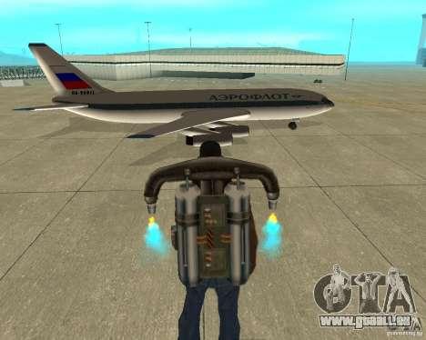 Iliouchine Il-86 pour GTA San Andreas vue de droite
