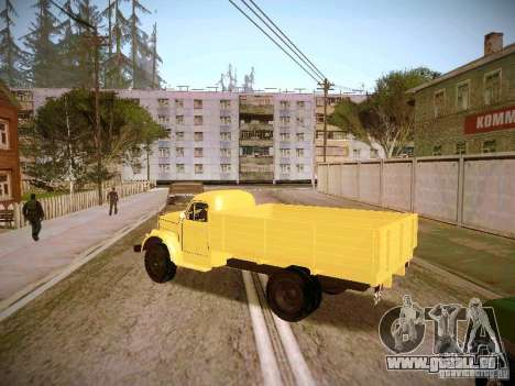GAS-51A für GTA San Andreas linke Ansicht