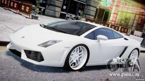 Lamborghini Gallardo LP 560-4 DUB Style für GTA 4-Motor