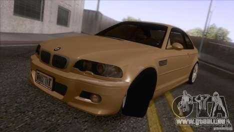 BMW M3 E48 für GTA San Andreas linke Ansicht