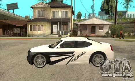 Dodge Charger R/T 2006 für GTA San Andreas obere Ansicht