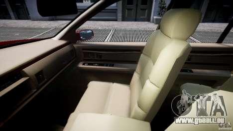 Buick Roadmaster Sedan 1996 v 2.0 pour GTA 4 est une vue de l'intérieur