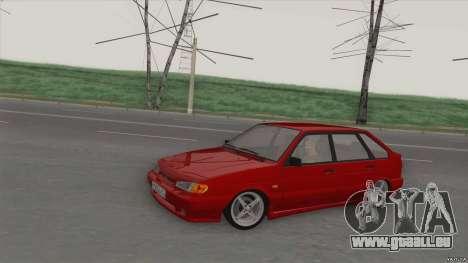 ВАЗ 2114-DROP für GTA San Andreas linke Ansicht