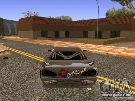 Elegy Drift Korch v2.1 pour GTA San Andreas laissé vue