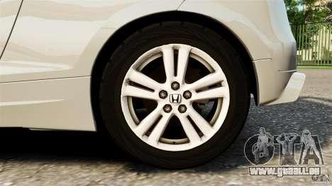 Honda Mugen CR-Z v1.1 pour GTA 4 est une vue de l'intérieur