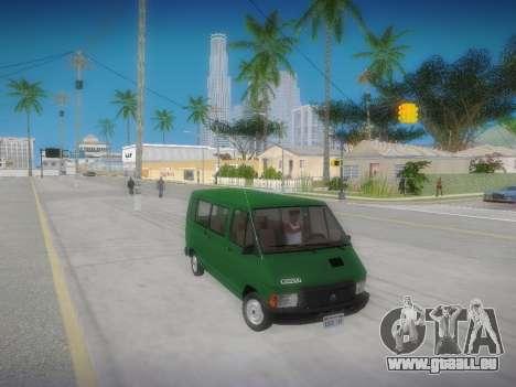 Renault Trafic T1000D Minibus pour GTA San Andreas vue de droite