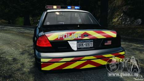 Ford Crown Victoria Police Interceptor 2003 LCPD für GTA 4 obere Ansicht