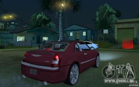 Chrysler 300c Roadster Part2 pour GTA San Andreas vue de droite