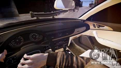 Audi A6 v1.0 pour GTA 4 Vue arrière